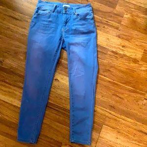 Super stretch light blue jeans size 11